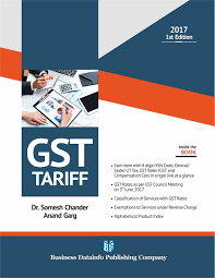 Gst For Design Services Buy Gst Tariff Book Online At Low Prices In India Gst