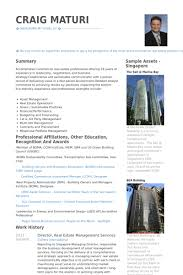 Real Estate Manager Resume 17 Property Techtrontechnologies Com