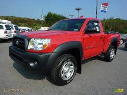 2006 Toyota Tacoma Regular Cab 4x4 in Radiant Red - 228560 | Truck ...