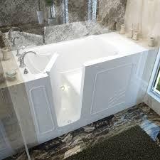 ... Bathtubs Idea, Mesmerizing Walk In Whirlpool Tub Healthy Bathroom With  Mat And Faucet And Door ...