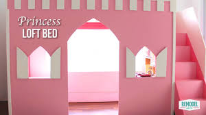 Build A Princess Bed How To Make A Princess Loft Bed Youtube