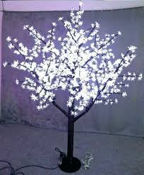 best outdoor fake tree with lights height artificial led cherry trees plastic