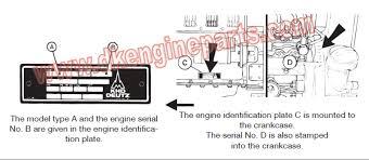 deutz fuel injector deutz 1011 1011f 2011 serial number location