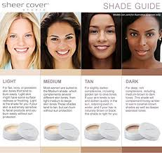Sheer Cover Mineral Foundation Color Chart Sheer Cover Studio Conceal And Brighten Highlight Trio Two Toned Concealers Shimmering Highlighter Medium Tan Shade With Free Concealer