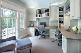 home office with two desks. Double Desk Home Office Two Person Design Ideas For Two-person Pedestal  Desks . Home Office With Two Desks
