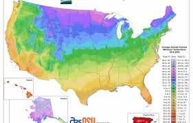 Us Growing Zone Chart Usda Plant Hardiness Zone Map This Old House