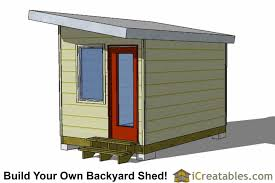 8x12 tiny home plans rear low income