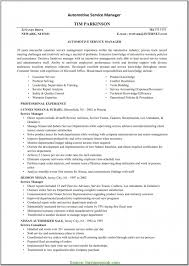 Fresh Auto Service Manager Resume Sample Sales Resume Skills Auto