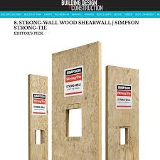 strong wall wood shearwall