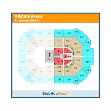 Allstate Arena Rosemont Event Venue Information Get Tickets