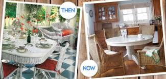 decorating with wicker furniture. Image Decorating With Wicker Furniture