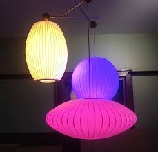 led lighting for the home. cc by 20 george nelson bubble lamp with hue led bulbs lloyd alter led lighting for the home