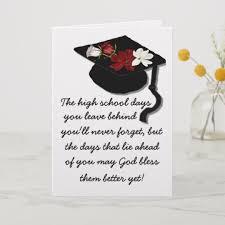 God Bless Graduation Greeting Card Zazzle Com