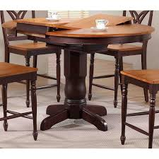 Iconic Furniture 42 In Round Counter Height Dining Table With