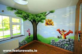 baby room murals baby room murals and piglet with mural south wall decals animals children room