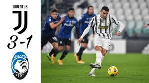 Juventus vs Atalanta |3-1| Goal Highlights