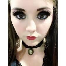cute cat eye makeup image