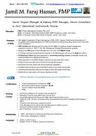 Sample Pmp Resume sample pmp resumes Goalgoodwinmetalsco 2
