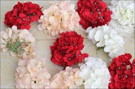 diy flower centerpieces wedding new silk artificial hydrangea macrophylla flowers diy background
