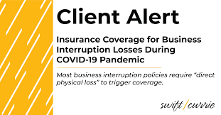 12 просмотров 10 месяцев назад. Insurance Coverage For Business Interruption Losses Related To Covid 19 Swift Currie