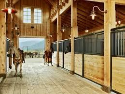 nice horse barn