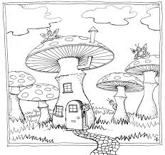 Small Picture Slide Alt Trippy Mushroom Coloring Pages Psychedelic Mushroom