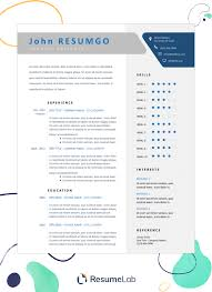 Modern Resume Template Free Download Eadily Read By Resume Reading Soft Wear 50 Free Resume Templates For Microsoft Word To Download