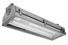 hi res image 1 2ft stainless steel fluorescent light fixture