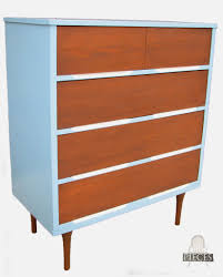 modern furniture pieces. vintage mcm mid century modern dresser set from craigslist gets blue makeover by prodigal pieces www furniture