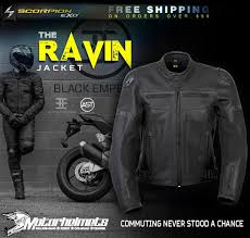 scorpion ravin leather jacket