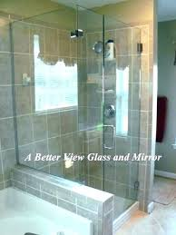 shower door installation cost installing doors vs curtains likes dislikes how replacement tray sh