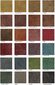 Contemporary Stained Concrete Floors Colors Color Represents 3 Total Each Polished On Beautiful Ideas