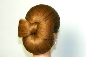 Bows In Hair Style updo hairstyle for long hair hair bow tutorial youtube 4765 by wearticles.com