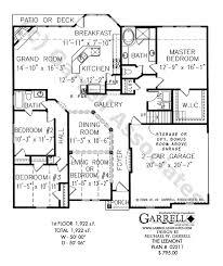 leemont house plan 02211 1st floor plan