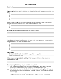 skills tracking sheet goal tracking sheet in word and pdf formats