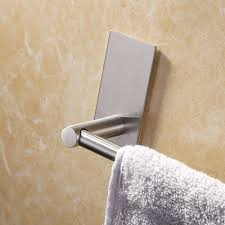 kitchen hand towel holder. KES 3M Self Adhesive Towel Bar 29.5-Inch Small Bathroom Kitchen Hand Hanger Sticky Stick Holder L