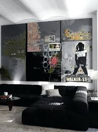 masculine wall decor lovely man cave interiors cool bachelor pad living room with art of prints wall art for bedroom masculine