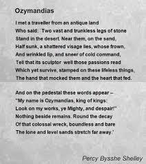 ozymandias poem summary and analysis co ozymandias poem by percy bysshe sey hunter