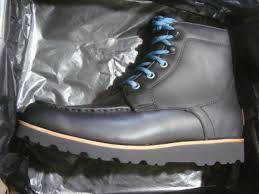 men s ugg agnar 1017288 m black leather winter waterproof boots size