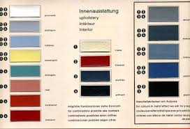 Fiat Paint Color Chart Messerschmitt Original Colours 1958 1964 Messerschmitt