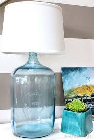 diy lamp from glass bottle