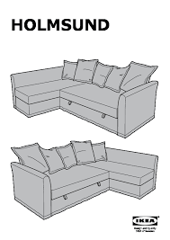 40321363 holmsund assembly instruction holmsund chaise for corner sofa bed