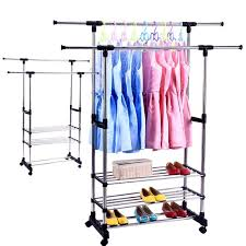 Commercial Coat Racks On Wheels The Most Stylish Clothing Rack With Wheels Orlanpress With Regard To 93
