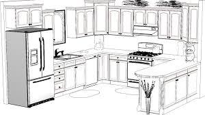 interior design sketches kitchen. Kitchen Design Sketch Awesome 13988 Interior Sketches G