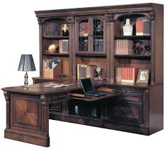 dual desks home office. Parker House Huntington 7 Piece Dual Desk Office Wall In Vintage Pecan CLEARANCE Desks Home B