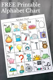 6 Ways To Use An Alphabet Chart Alphabet Charts Preschool