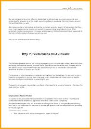 writing references on a resume writing job references resume reference page format sample list