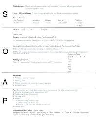 Sample Soap Note Template Mental Health Progress Example