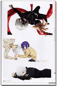tokyo ghoul anime official art book