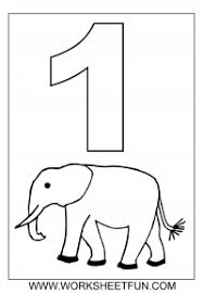 number coloring pages for preschoolers. Simple Preschoolers Number Coloring With Number Coloring Pages For Preschoolers
